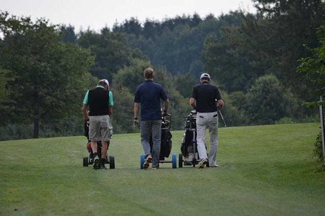 Netzwerken auf dem Golfplatz