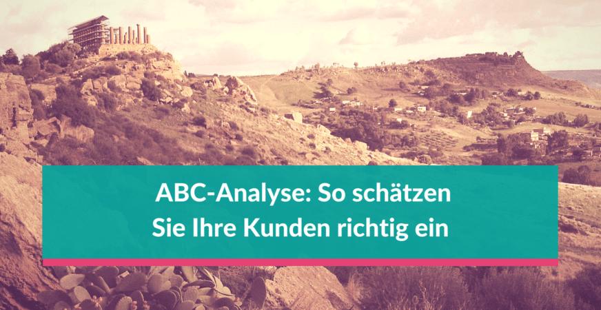ABC-Analyse zeigt Ihnen welche Kunden mehr Umsatz bringen als andere